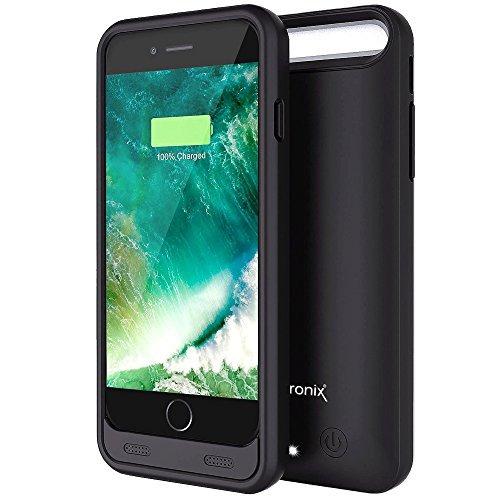 carcasa con batería de 3100mah alpatronix para iphone 6/6s