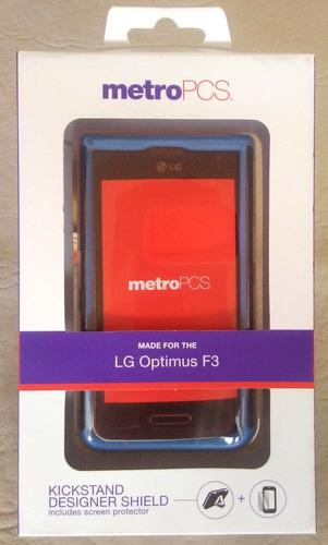 carcasa con protector de pantalla lg optimus f3