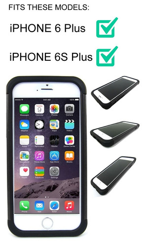 carcasa corpcase para iphone 6plus/iphone 6s plus 5.5inch ca