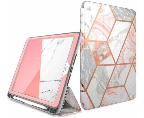 carcasa c/protector de pantalla i-blason cosmo p/ipad 10.2 2