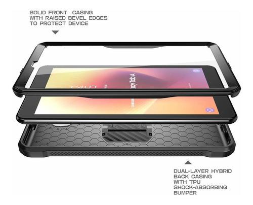 carcasa c/protector supcase ubpro p/galaxy tab a 8.0 2018