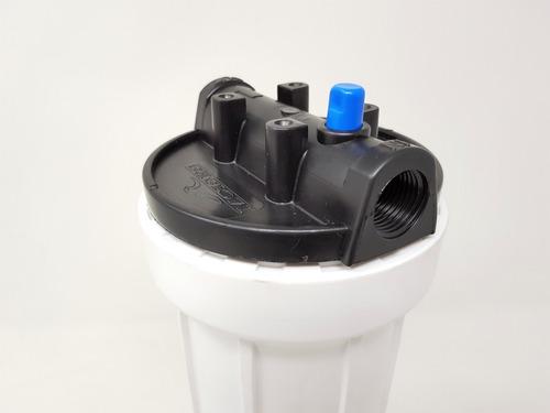carcasa de 10 pulgadas blanca para filtro de agua