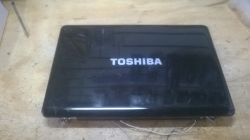 carcasa de display completa toshiba satellite l505 l505d