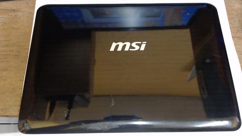 carcasa de pantalla minilaptop msi