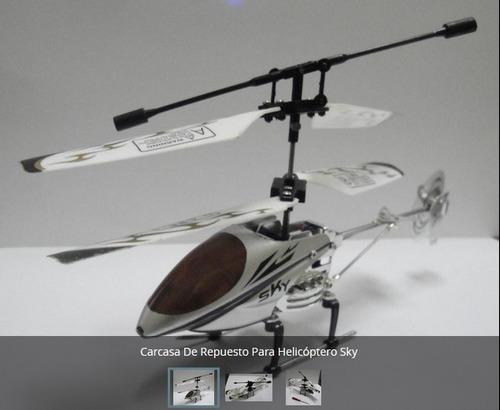 carcasa de repuesto para helicóptero sky