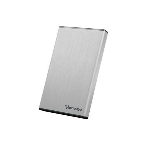 carcasa disco duro externo 3.0 case 2.5 vorago hdd-201 plata