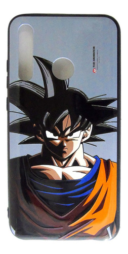 carcasa dragon ball z goku face huawei p smart 2019