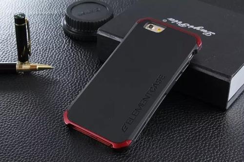 carcasa element estuche aluminio iphone 6 6s caja
