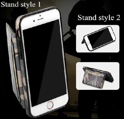 carcasa, estuche  para iphone 6 y 6s (pixelado militar)
