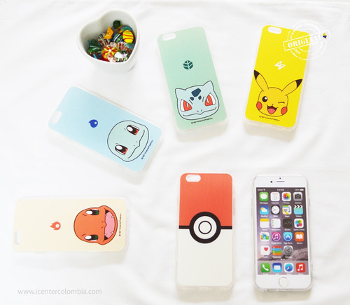 carcasa estuche pokemon iphone 6 6s apple