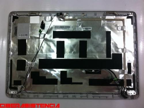 carcasa exterior monitor hp g42-382la gris