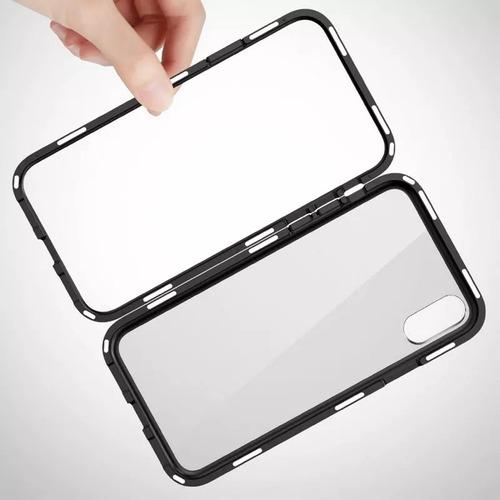 carcasa funda aluminio 360 magnetica iphone 6 7 8 x xs xr