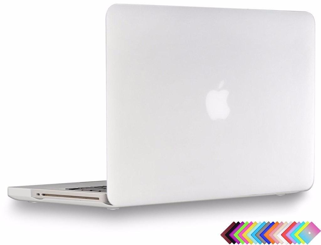 carcasa funda case protector macbook pro 13 transparente en mercado libre. Black Bedroom Furniture Sets. Home Design Ideas