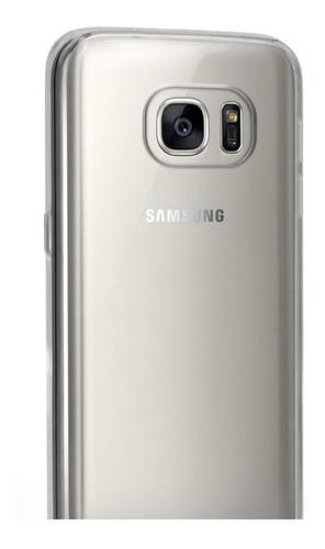 carcasa funda de gel transparente samsung s7 - phone store