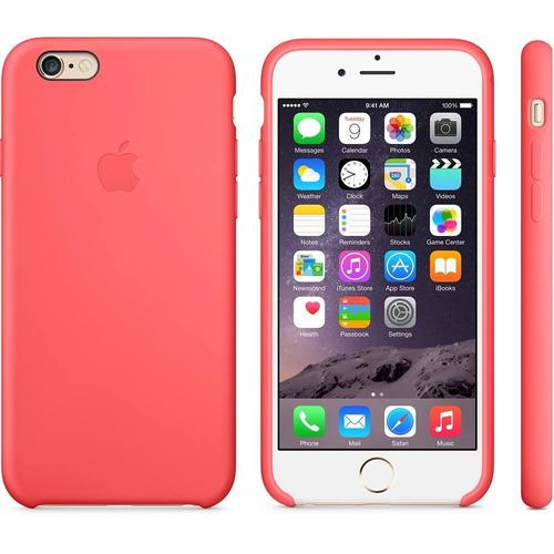 carcasa funda de silicona iphone 7 y 8 coral