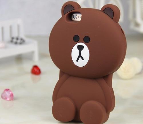 carcasa / funda iphone 6 oso
