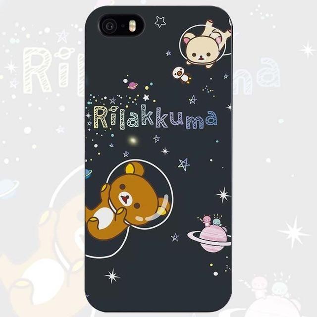 ec0db8a70b4 Carcasa Funda Kawaii De Oso Rilakkuma Para iPhone 7 - $ 160.00 en ...