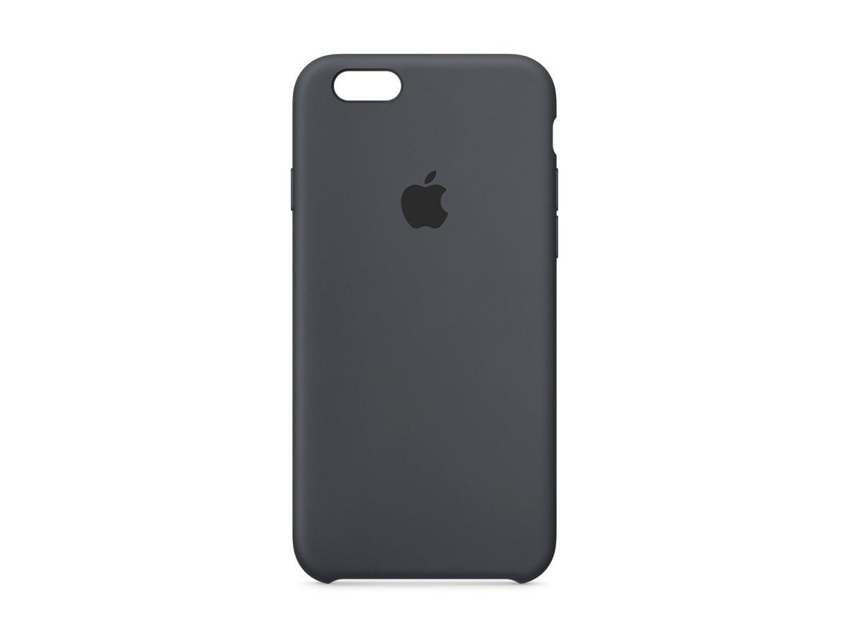 7dba2c38bf0 Carcasa Funda De Silicona Para Apple iPhone 6 Y 6s Negro - $ 19.990 ...