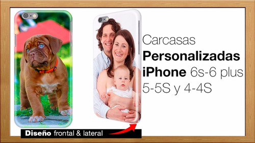 carcasa funda personalizada iphone 6 plus 5s 5 4s 7 s case x