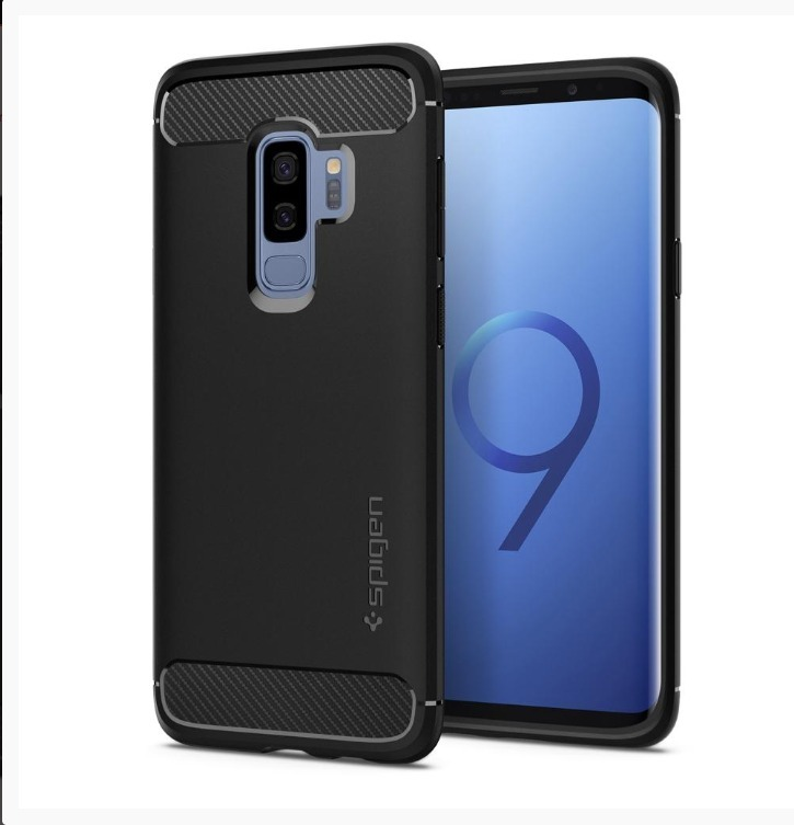 low priced 8647f 93b24 Carcasa Galaxy S8 S9 Plus Spigen Liquid Air Y Rugged Armor