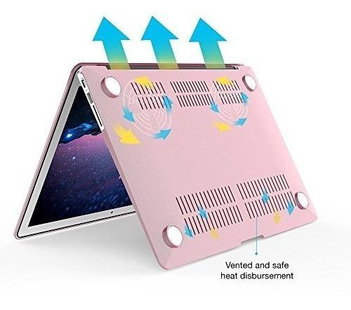 carcasa ibenzer c/funda teclado+prot. pantalla p/macbook air