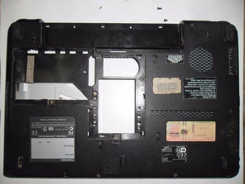 carcasa inferior bottom case notebook toshiba l510 l515 #2