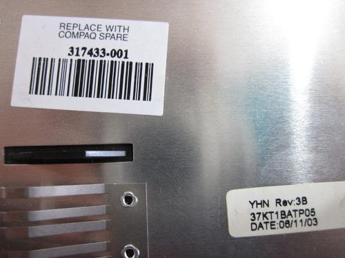 carcasa inferior compaq presario 2100 p2125la 37kt1batp05
