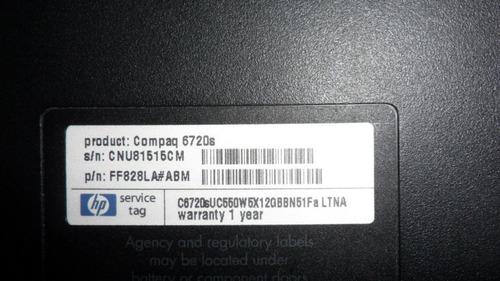 carcasa inferior compaq presario 6720s vbf