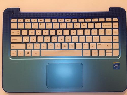 carcasa inferior con teclado hp stream 13