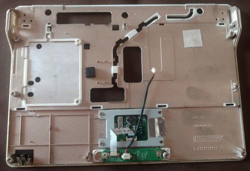 carcasa inferior del palm rest mini laptop siragon ml-1020