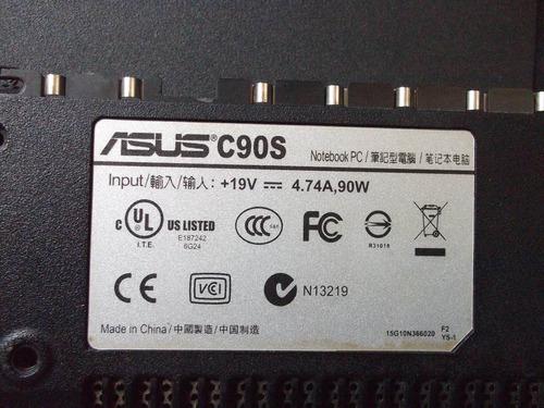 carcasa inferior para  asus c90s         vbf