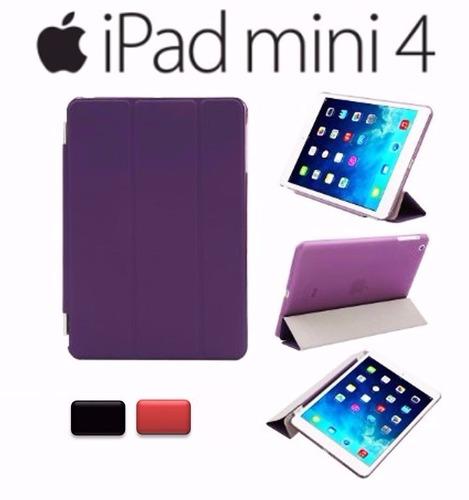 carcasa ipad mini 4 estuche tipo smart case - magnético