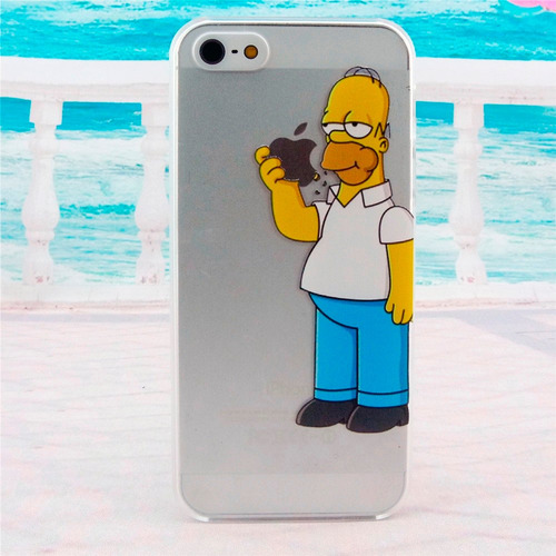 carcasa iphone 4 4s 5 5s se 6 6s plus homero simpson