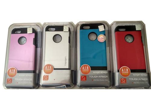 carcasa iphone 5 5s se estuche spigen antigolpes colores