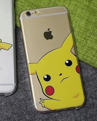 carcasa iphone 5 5s se transparente pokemon pikachu ciberday