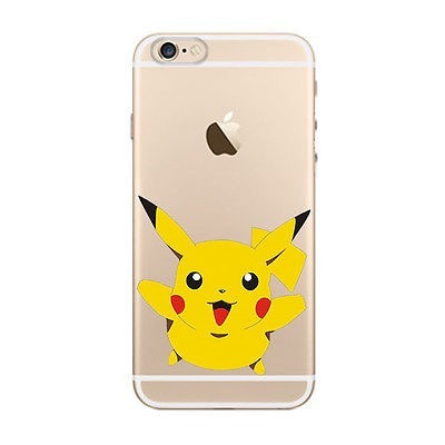 carcasa iphone 5c pokemon pikachu rigida ciberday