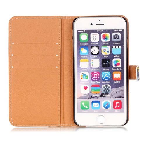 carcasa iphone 5s casepatrón único slim wallet tarjeta flip