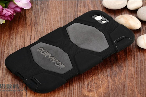 carcasa iphone 6 6s estuche antigolpe survivor todo terreno