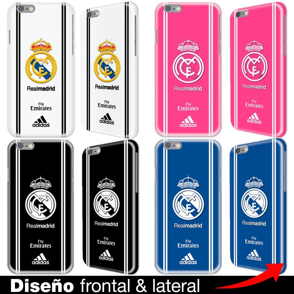 Carcasa iphone 6 6s plus se 5s 4s real madrid fondos en mercado libre - Fundas del real madrid ...