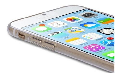 carcasa iphone 6 fina 100% transparente envios, protector