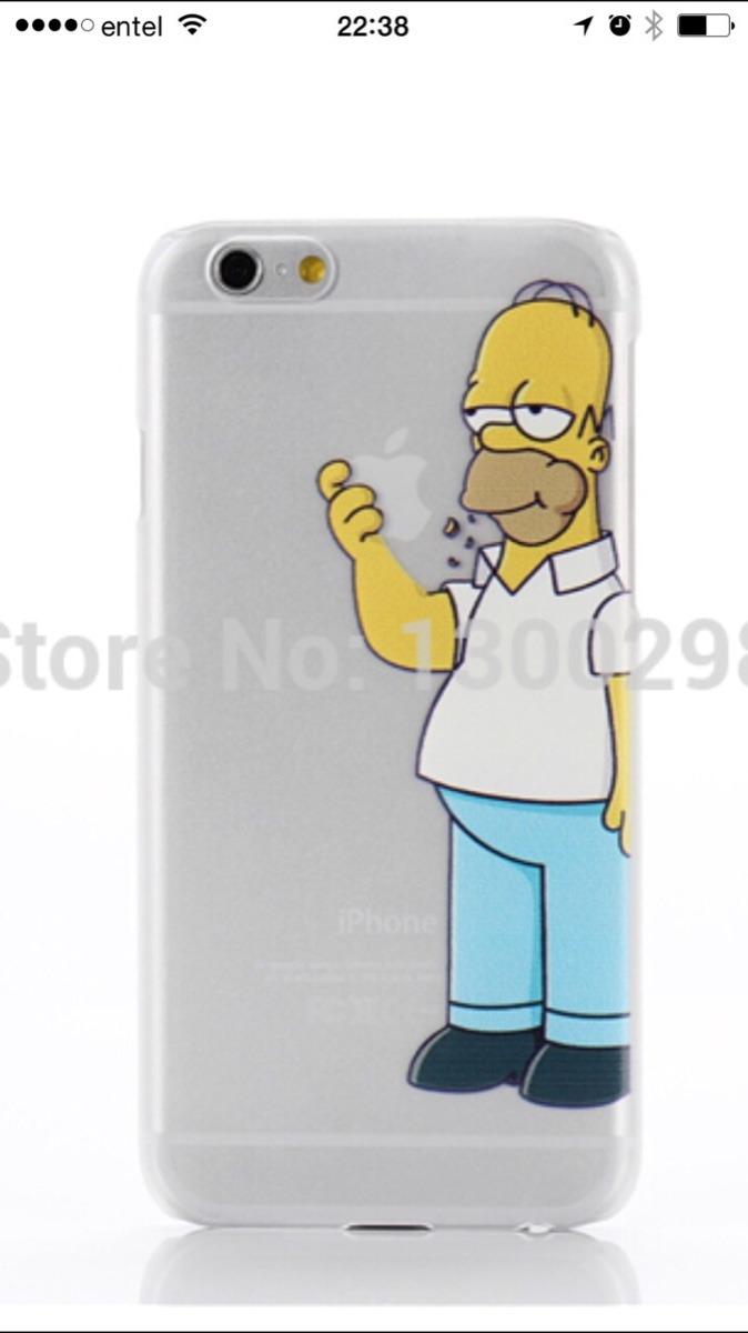 aac3f16a675 Carcasa iPhone 6 Homero Simpson - $ 2.990 en Mercado Libre