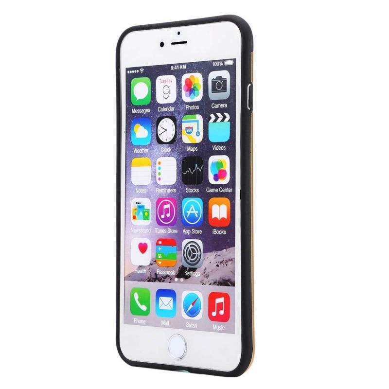 a15f7764270 carcasa iphone 6 plus & 6s plus metal + tpu motomo dorado. Cargando zoom.