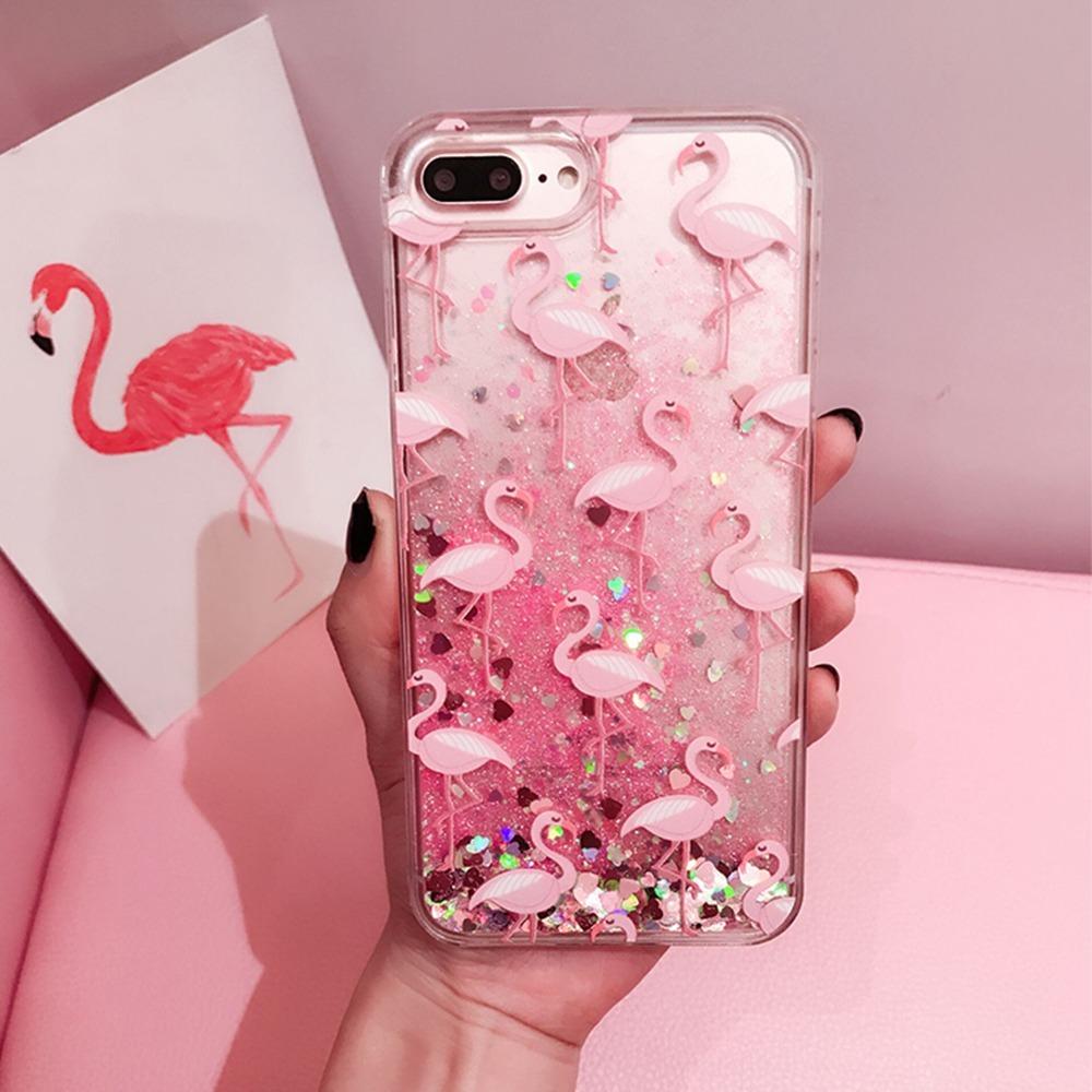 carcasa iphone 6 flamingos