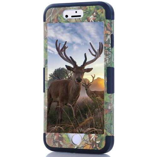 carcasa iphone 6s plus funda, hocase camuflaje series, durab