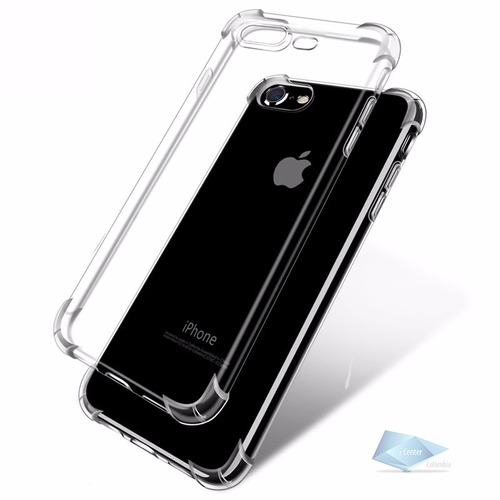 carcasa iphone 7 8 plus estuche forro transparente liviano
