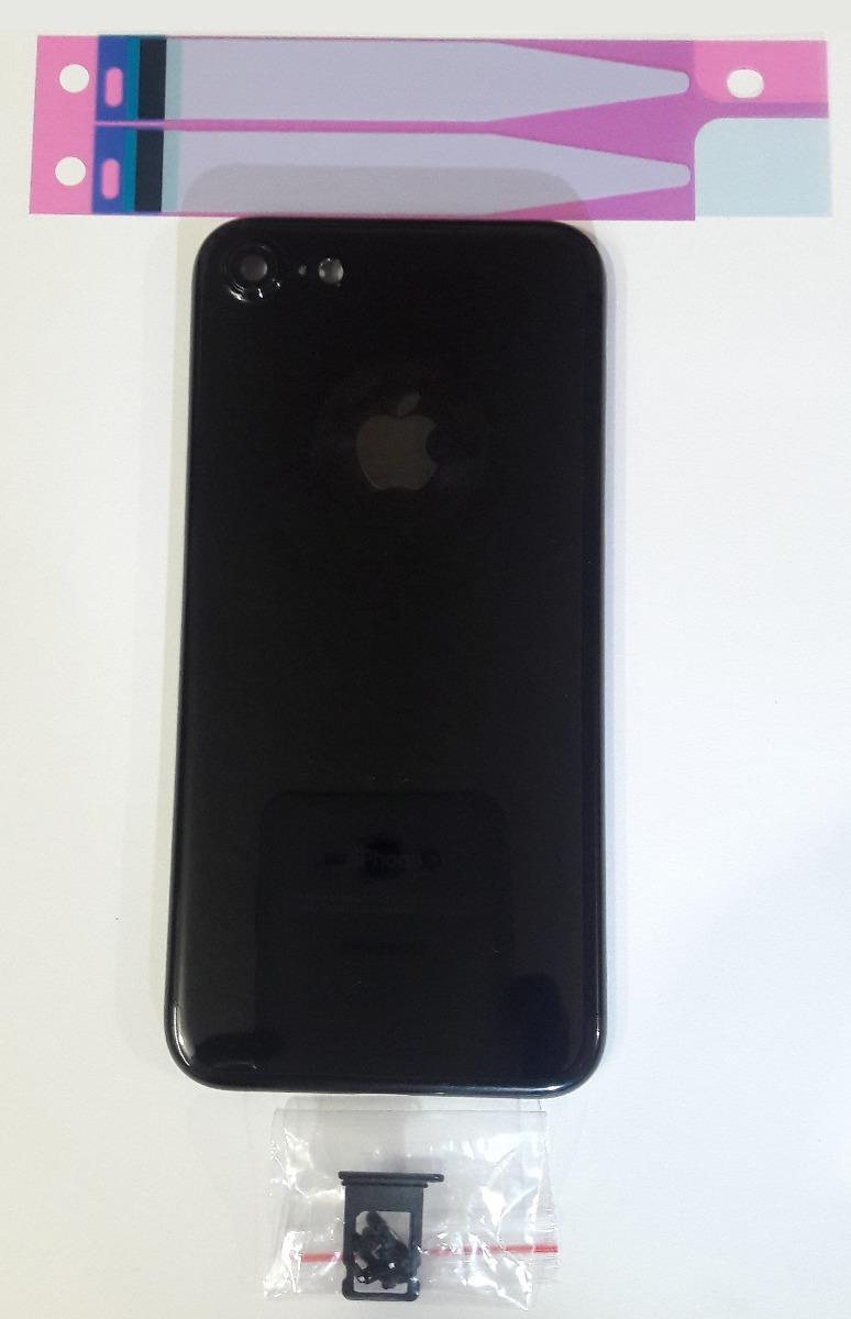 0773c6148fd Carcasa Iphone 7 Original Jet Black Con Botones - $ 589.00 en ...