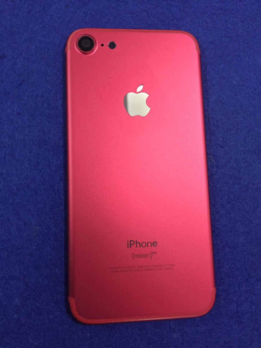 carcasa iphone 7 red