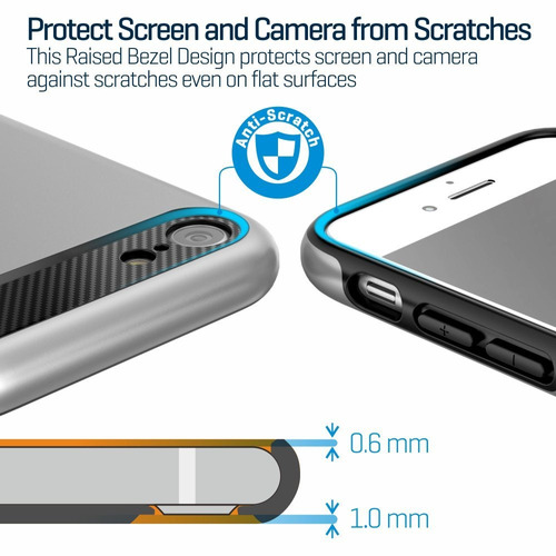 carcasa iphone 7case 4.7inch ispecle dual layer hybrid iphon