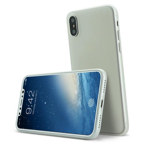 carcasa iphone x case, bds thinnest premium ultra delgada lu