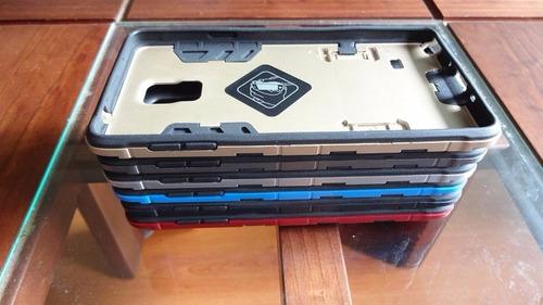 carcasa ironman hibrida 3 en 1 samsung note 4